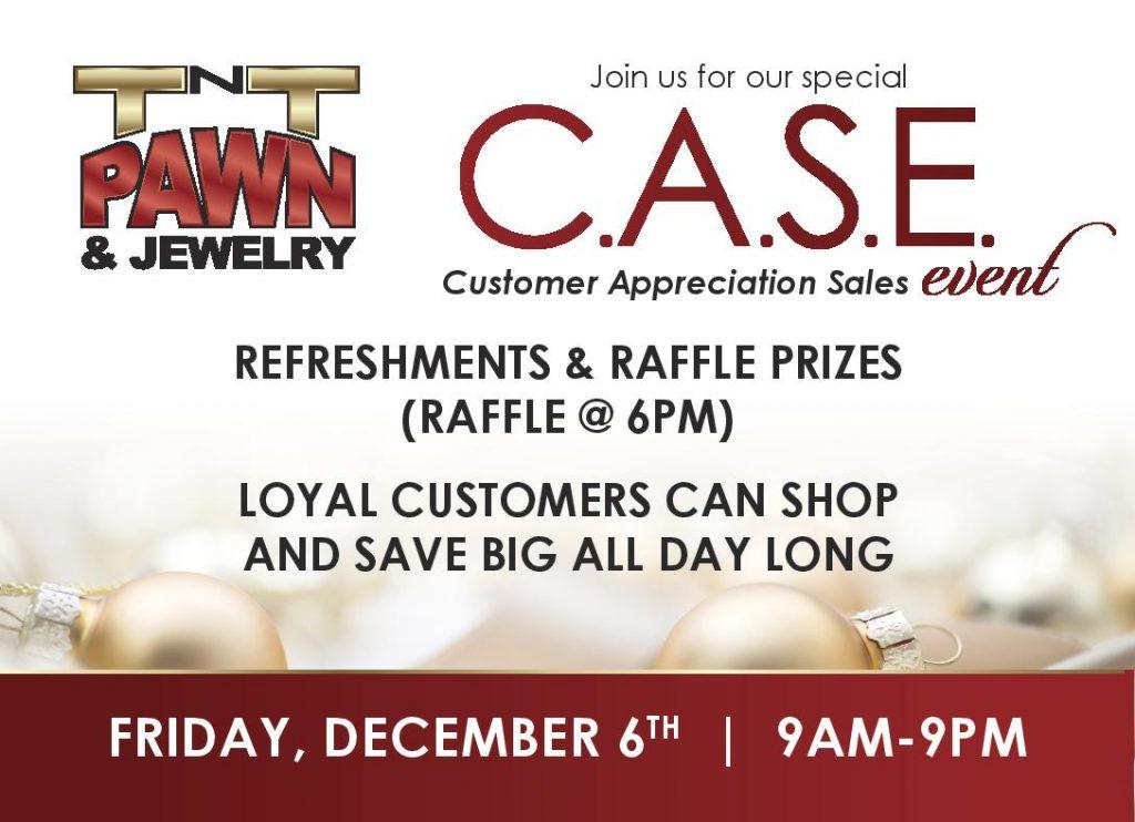TNT Pawn & Jewelry Las Vegas Phoenix annual Customer Appreciation Sales Event